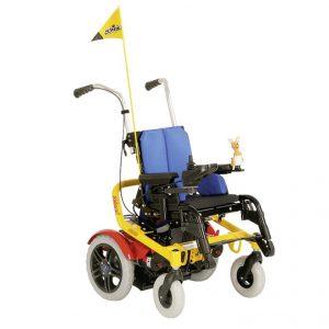 Skippi - elektryczny wózek inwalidzki dziecięcy
