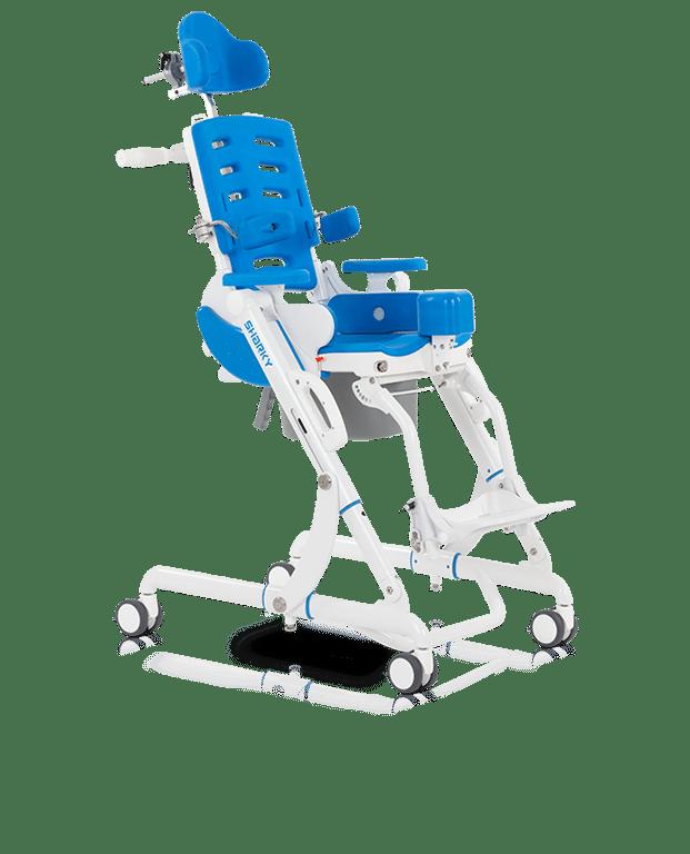 Wózek inwalidzki toaletowy sharky